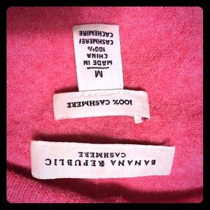 Cashmere BR cardigan, some pilling.